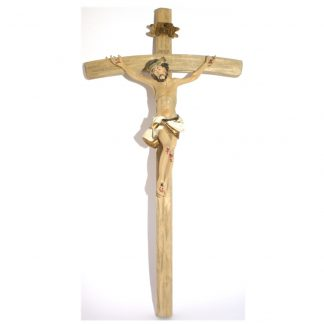 Wooden Hanging Crucifix