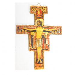 "Small San Damiano Cross approx. 5.5"" x 4"""