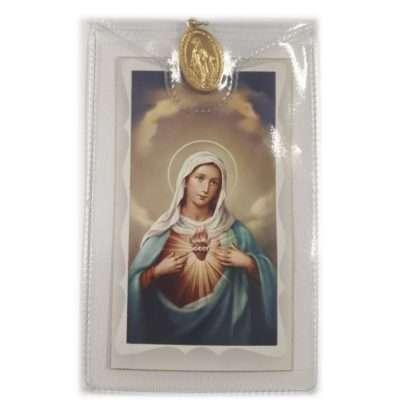 Our Lady Prayer Card