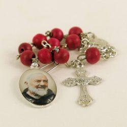 St. Pio Mini Rosary (Car) ARPIO