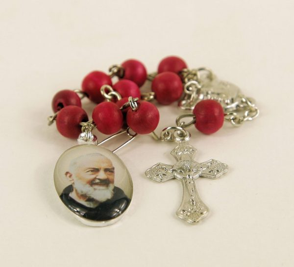 St. Pio Mini Rosary (Car) ARPIO