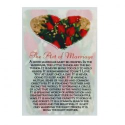 Art of Marriage Prayer Card