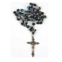 BLACK DIAMOND ROSARY (MEDIUM)