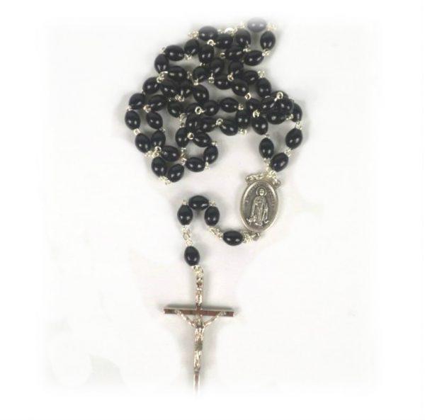 St. Martin Rosary Beads ( Black)