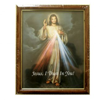 Divine Mercy Framed Picture
