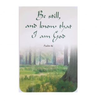 Be Still and Know Prayer Card