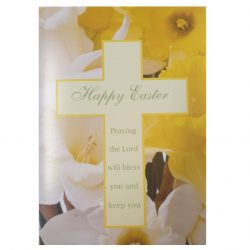 Cross and Daffodil Easter Cards
