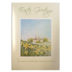 Scenic Church Easter Cards - Pack of 6 with Envelopes