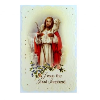Good Shepherd Prayer Card