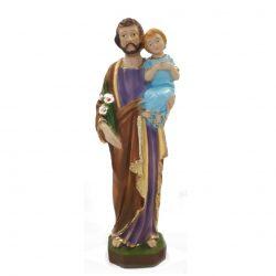 St Joseph 9 inch resin statue
