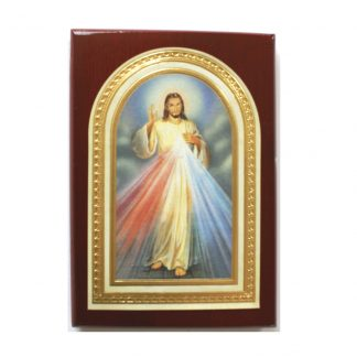 Divine Mercy Plaque - Small 7.5cm x 10.5cm