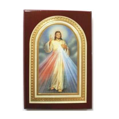 Divine Mercy Plaque - Small 7.5cm x 10.5cm