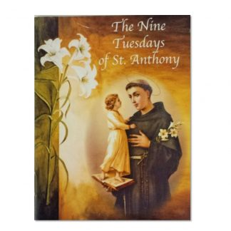 Nine Tuesdays of St Anthony Prayer Book