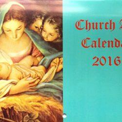 NATIVITY CHURCH ART CALENDAR