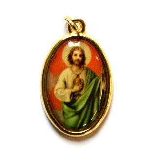 St Jude picture medal