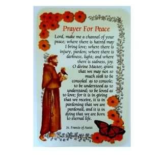 Pray for Peace prayer card