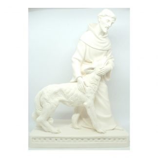 St Francis and wolf