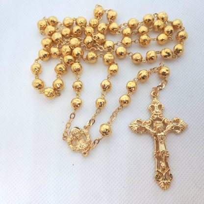 Golden Rosary RS047