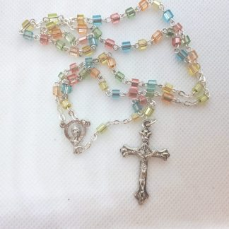 Small Multi-Coloured Rosary RS339