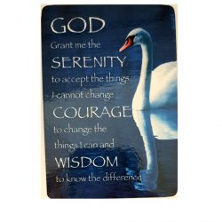 Serenity Prayer Quote Card