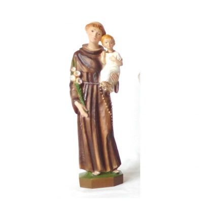 "Saint Anthony 9"" Resin Statue"