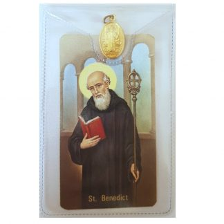 St. Benedict Medal and Leaflet