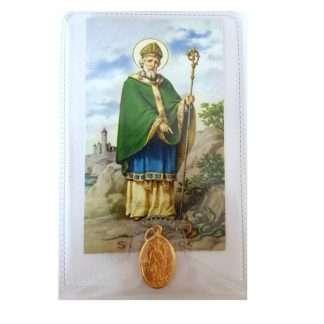 St. Patrick Medal with Leaflet