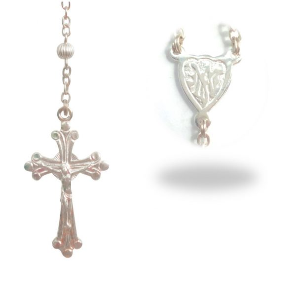 Sterling Silver Rosary RS001