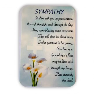 Sympathy Prayer Card