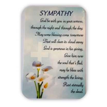 Sympathy Prayer Card