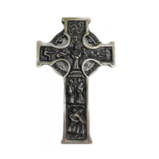 Metal Celtic Cross - Approx. 5″ Beautiful Celtic cross.
