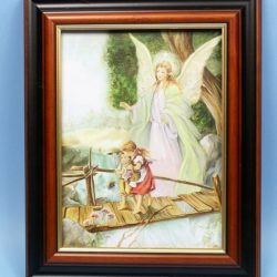 FRAMED GUARDIAN ANGEL PICTURE