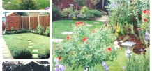 Maura and Michael's beautiful garden in Bromley, Kent