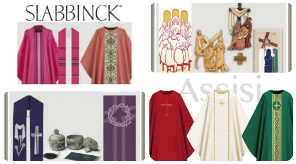 slabbinck vestments and liturgical items