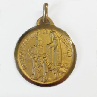 Our Lady of Fatima gold medal