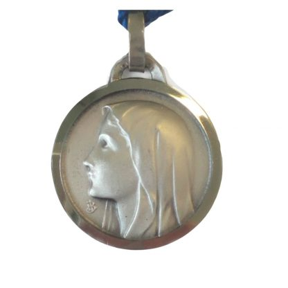 Our Lady of Lourdes Nickle Medal