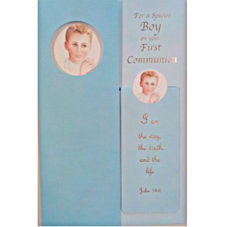 Special Boy First Communion Card