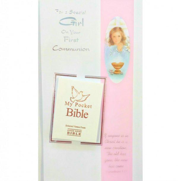 bible communion card