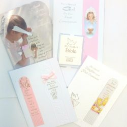 Girls Communion Cards