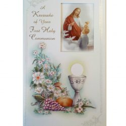 Keepsake communion card