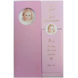 Girls First Communion Card