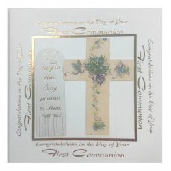 Communion Card Sqaure