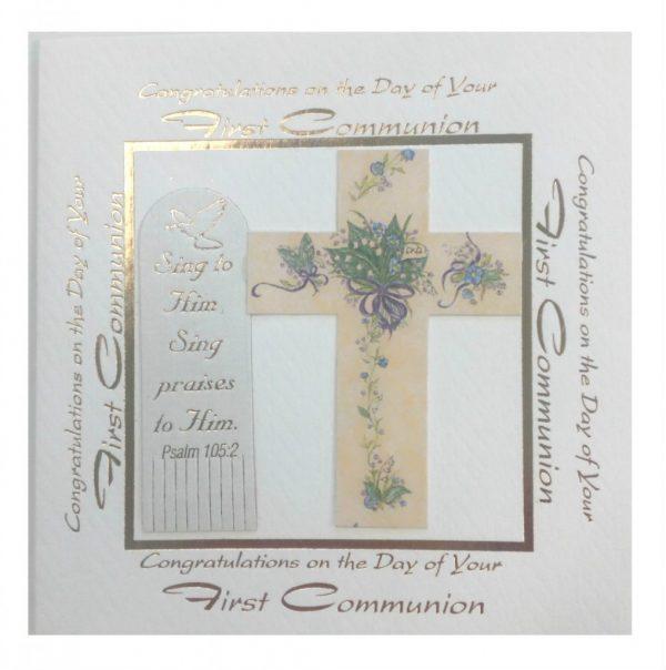 Communion Card Sqaure