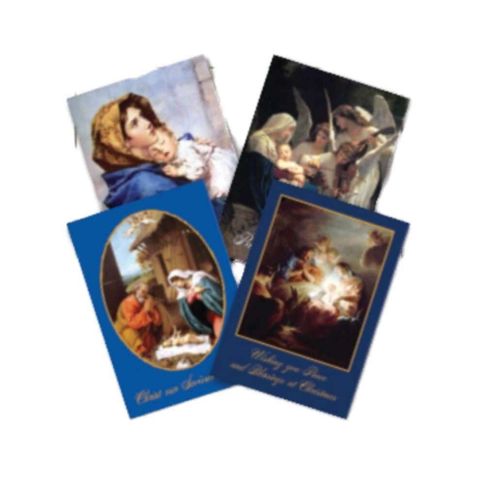 nativity charity christmas cards  st martin apostolate