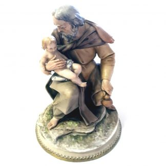 Borsato Collectible St Joseph and Child Jesus