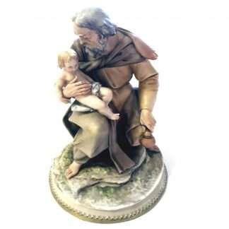 Borsato Collectible St Joseph and Child Jesus