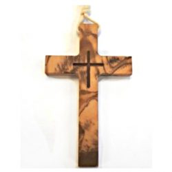 Olive Wood - Wooden Cross 7.5cm