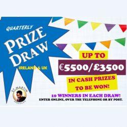 Prize Draw Tickets