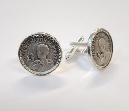 Sterling Silver Cuff Links St Martin de Porres