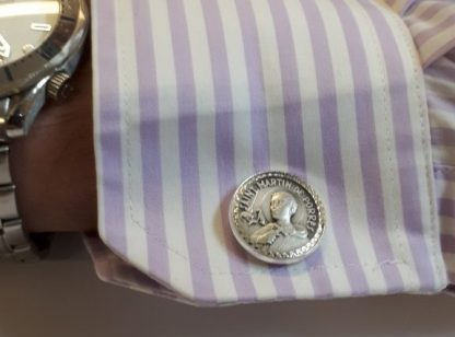 St Martin Stirling Silver Cuff Links